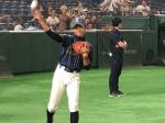 関東選抜シニアVS関東選抜ボーイズ 東京ドーム